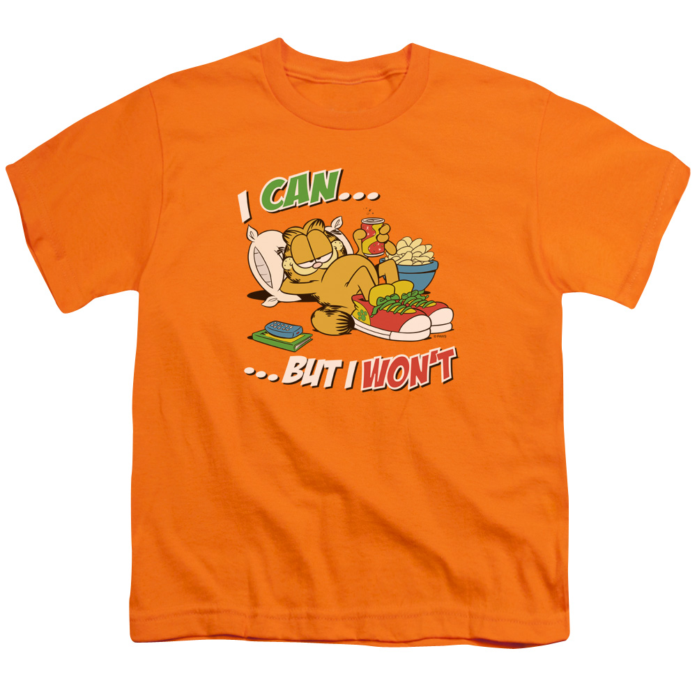 Garfield I Can Kids T-Shirt
