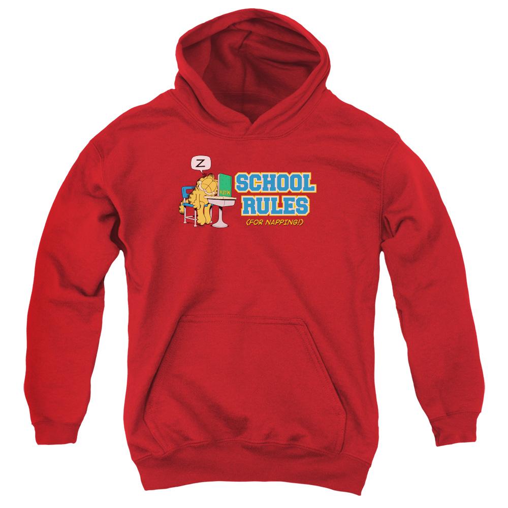 Garfield School Rules Kids Hoodie