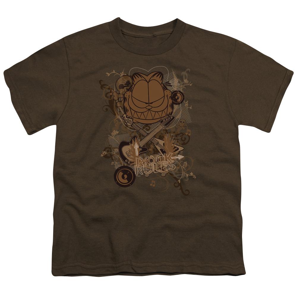 Garfield Rock Rules Kids T-Shirt