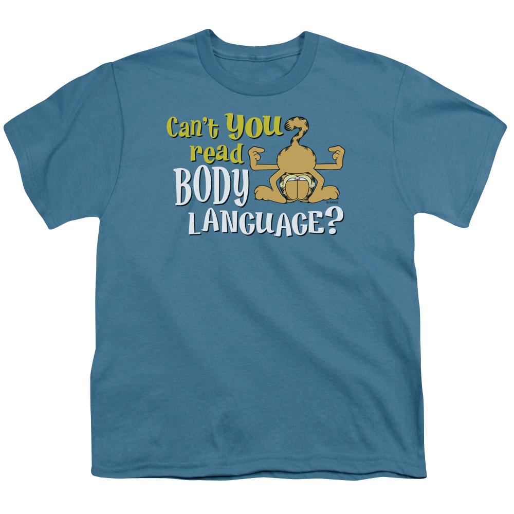 Garfield Body Language Kids T-Shirt