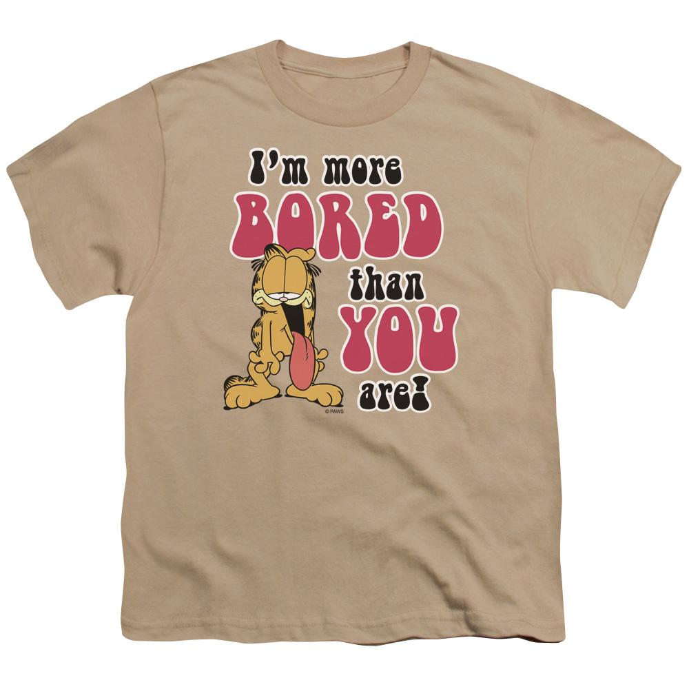 Garfield More Bored Kids T-Shirt