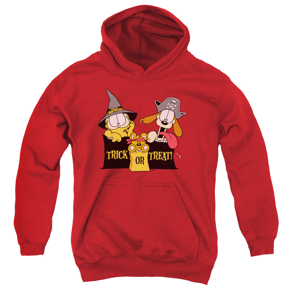 Garfield Trick Or Treat Kids Hoodie