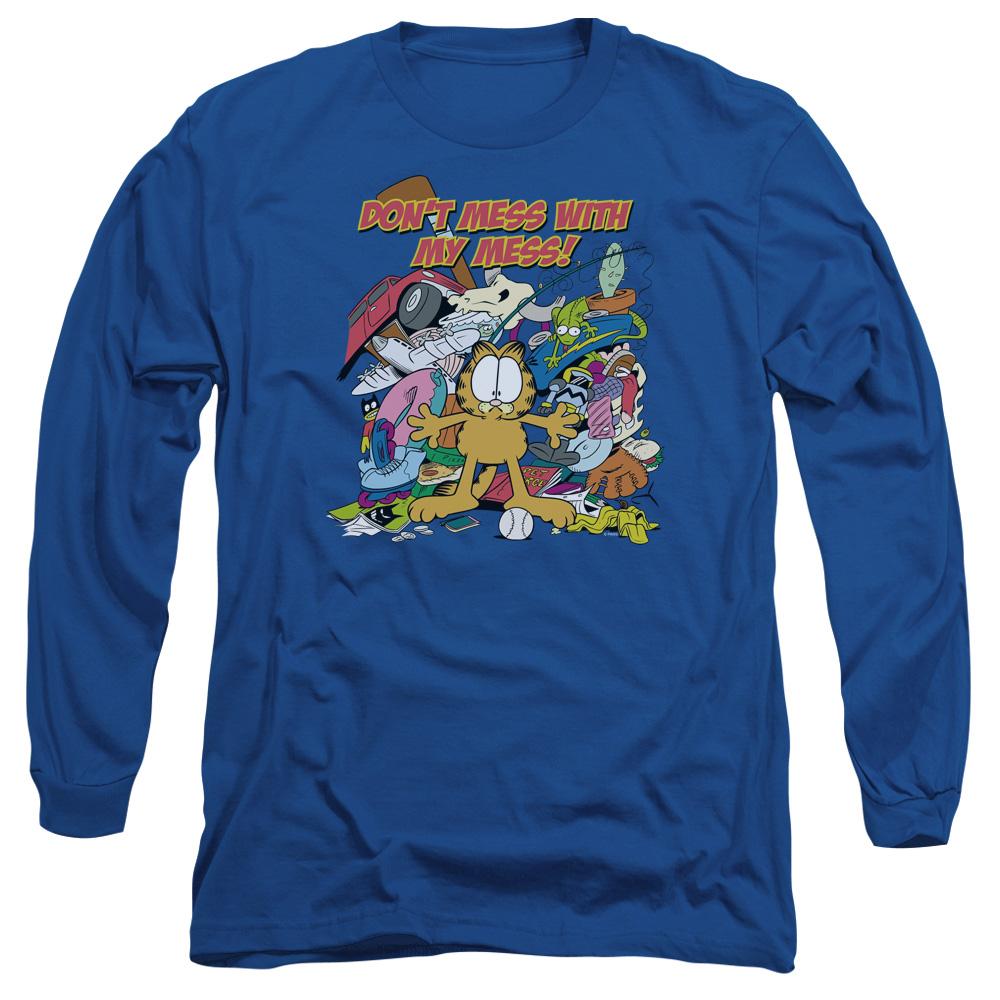 Garfield My Mess Long Sleeve Shirt