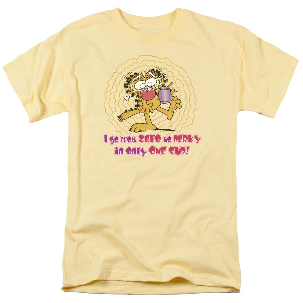 Garfield From Zero To Perky T-Shirt