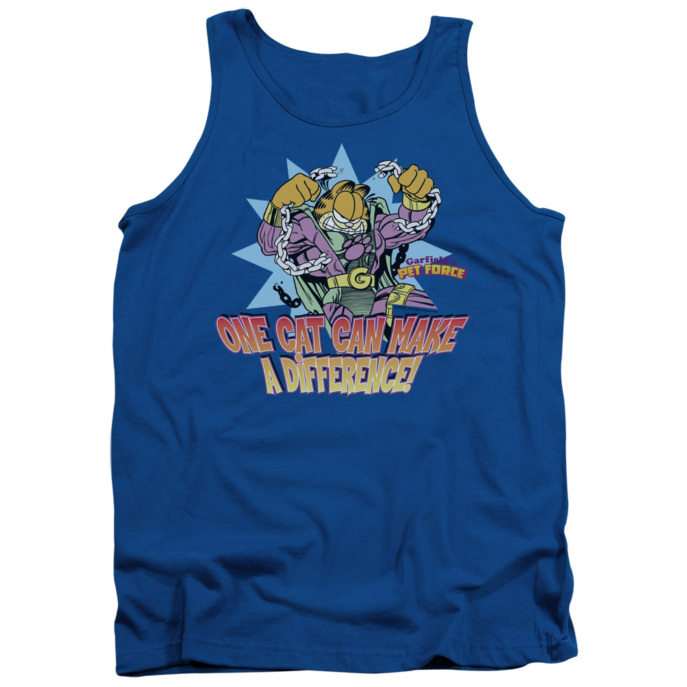 Garfield Make A Difference Tank Top