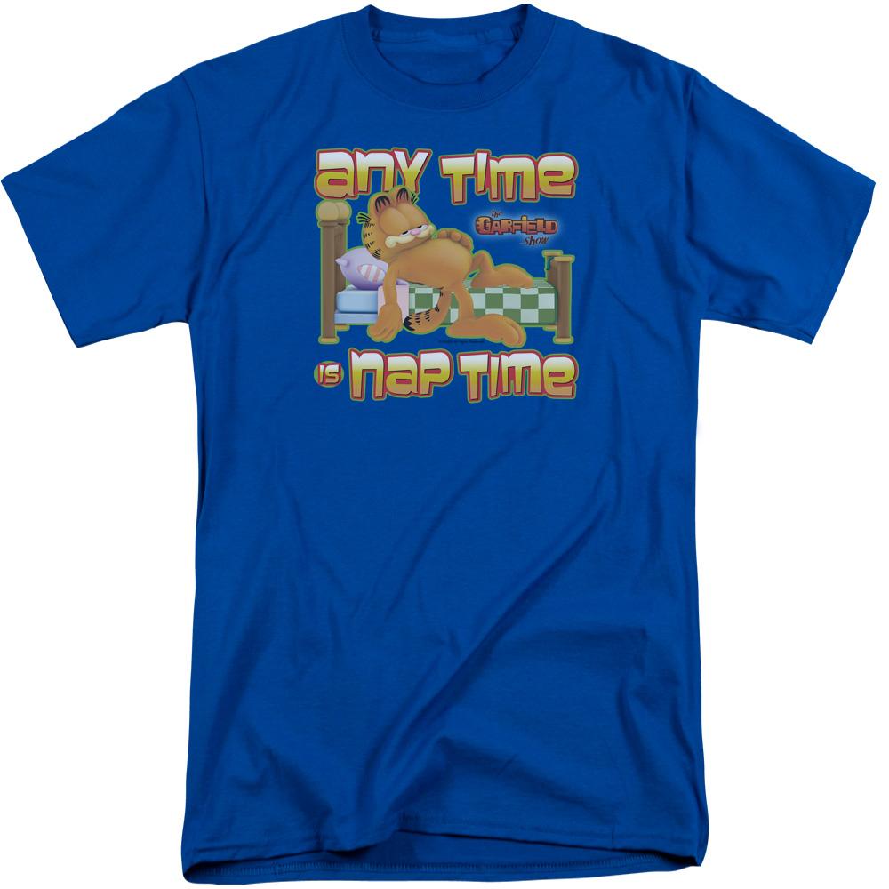 Garfield Nap Time Tall T-Shirt