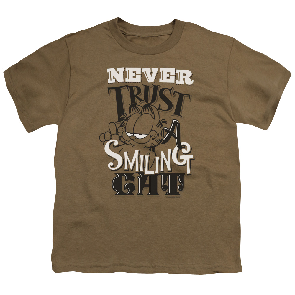Garfield Never Trust Kids T-Shirt