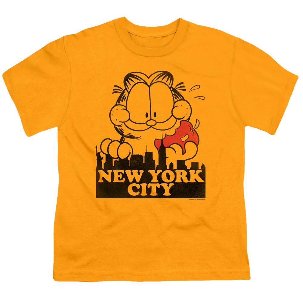 Garfield New York City Big Apple Kids T-Shirt