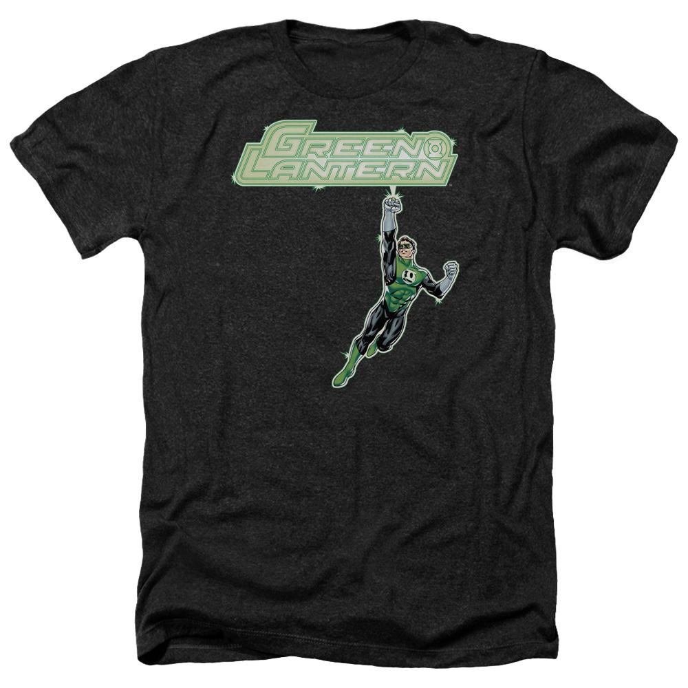 Green Lantern Energy Construct Logo Heather T-Shirt