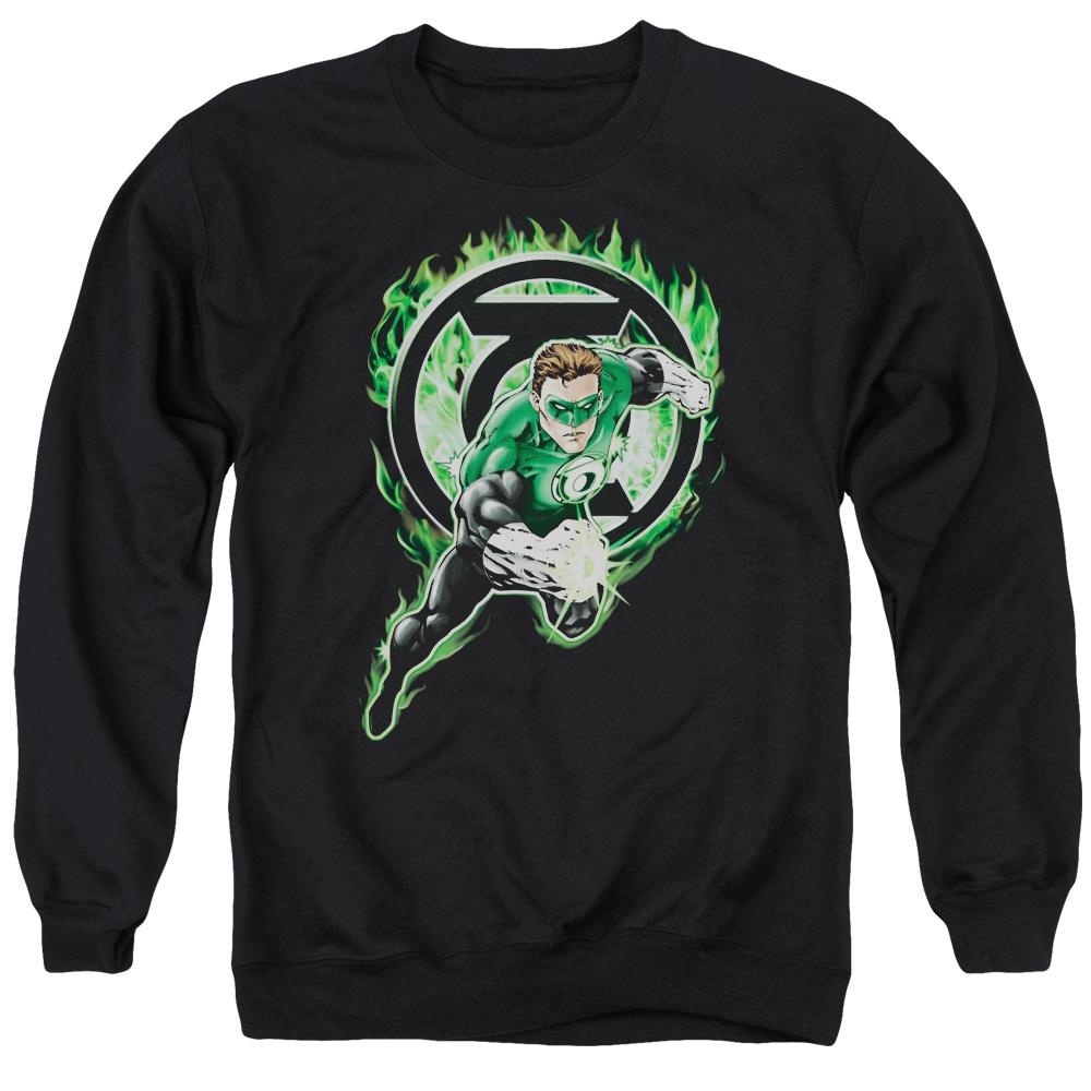 Green Lantern Space Cop Vintage Sweater