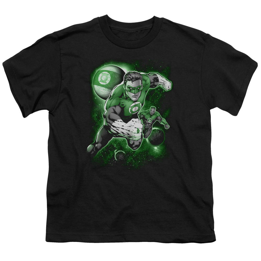 Green Lantern Planet Kids T-Shirt