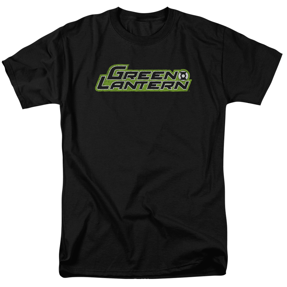 Green Lantern Scribble Title T-Shirt