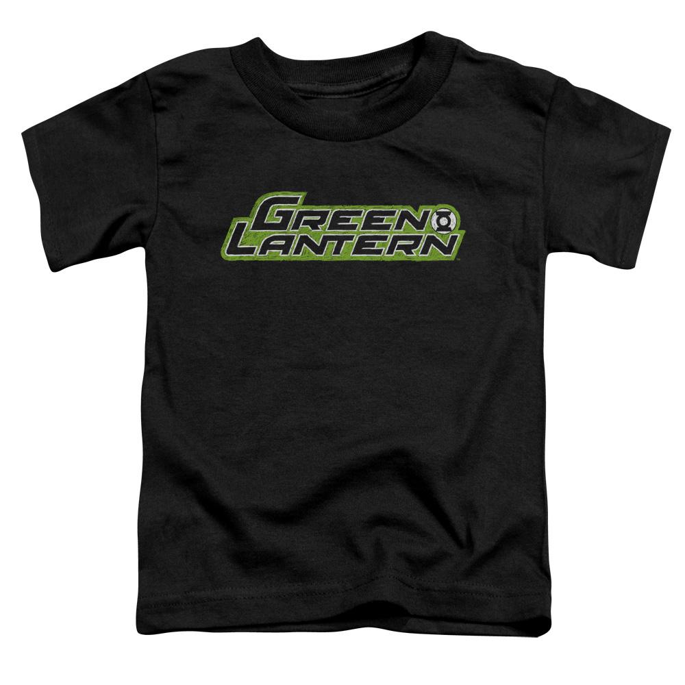 Green Lantern Scribble Title Toddler T-Shirt