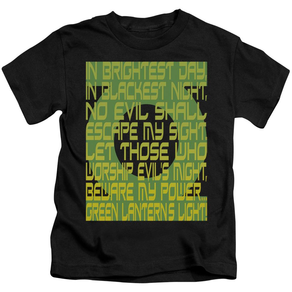 Green Lantern Oath Juvy T-Shirt
