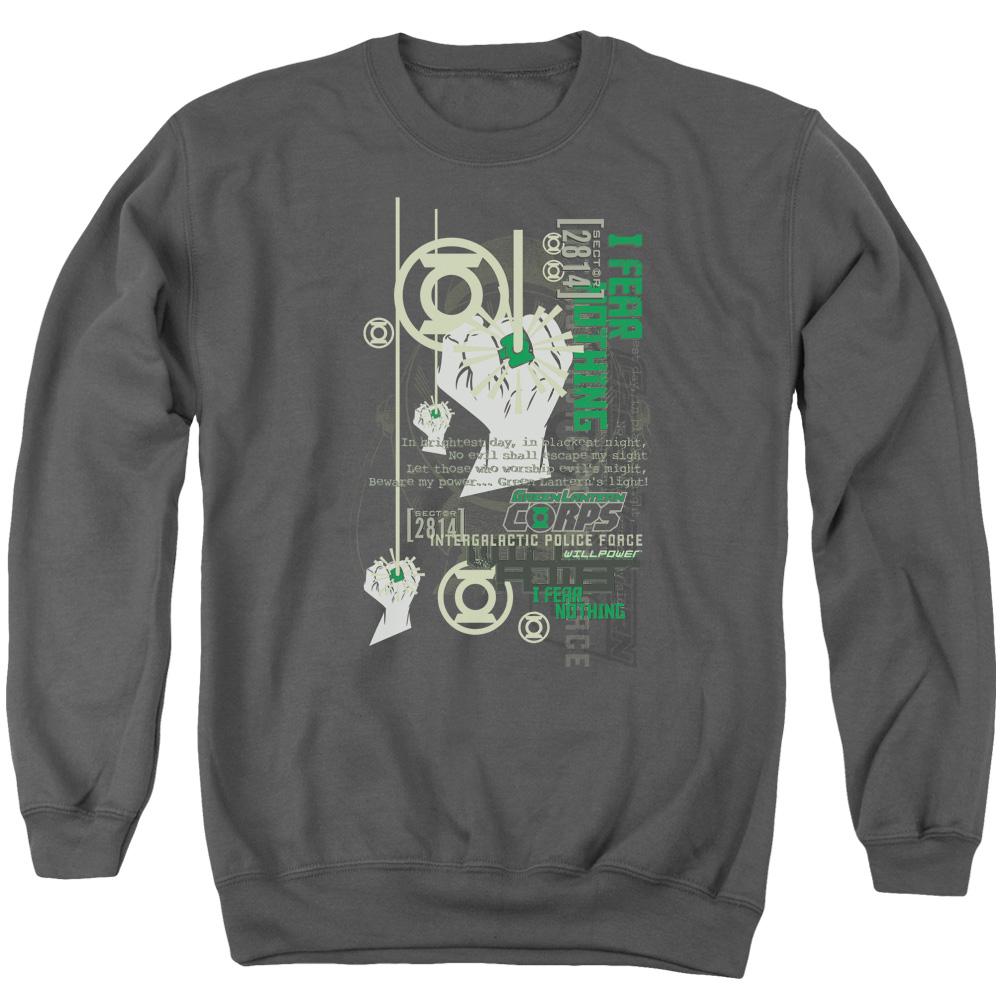 Green Lantern Core Strength Sweater