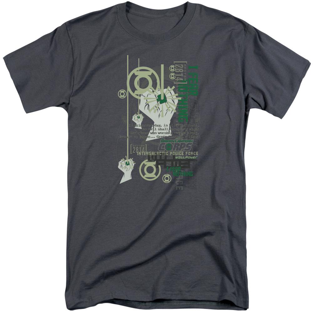 Green Lantern Core Strength Tall T-Shirt
