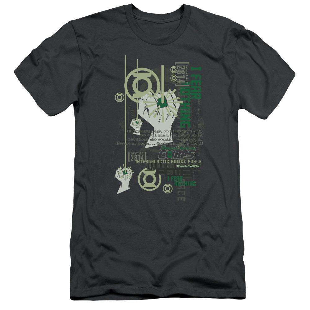 Green Lantern Core Strength Slim Fit T-Shirt