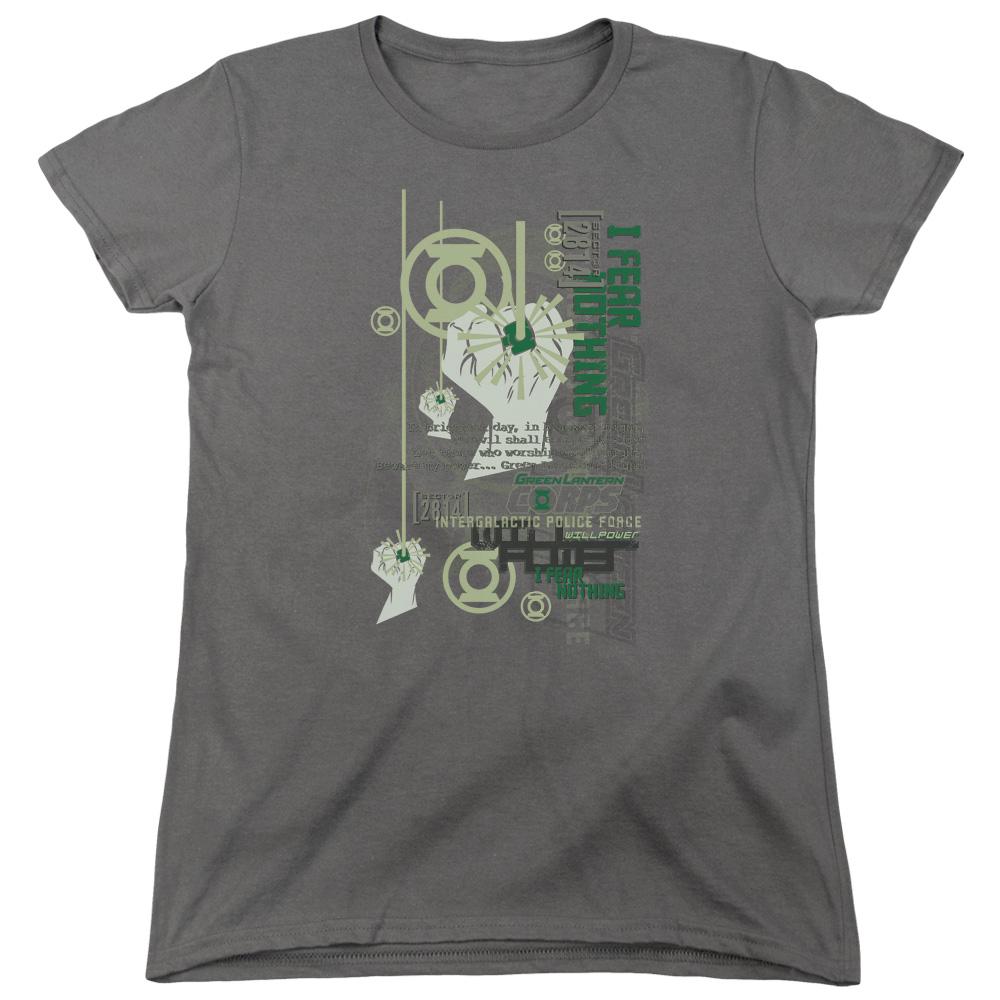 Green Lantern Core Strength Women's T-Shirt
