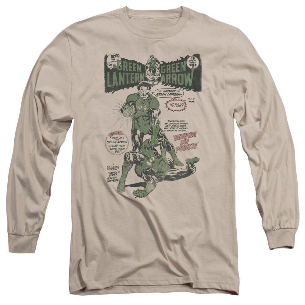 Green Lantern Beware My Power DC Long Sleeve Shirt