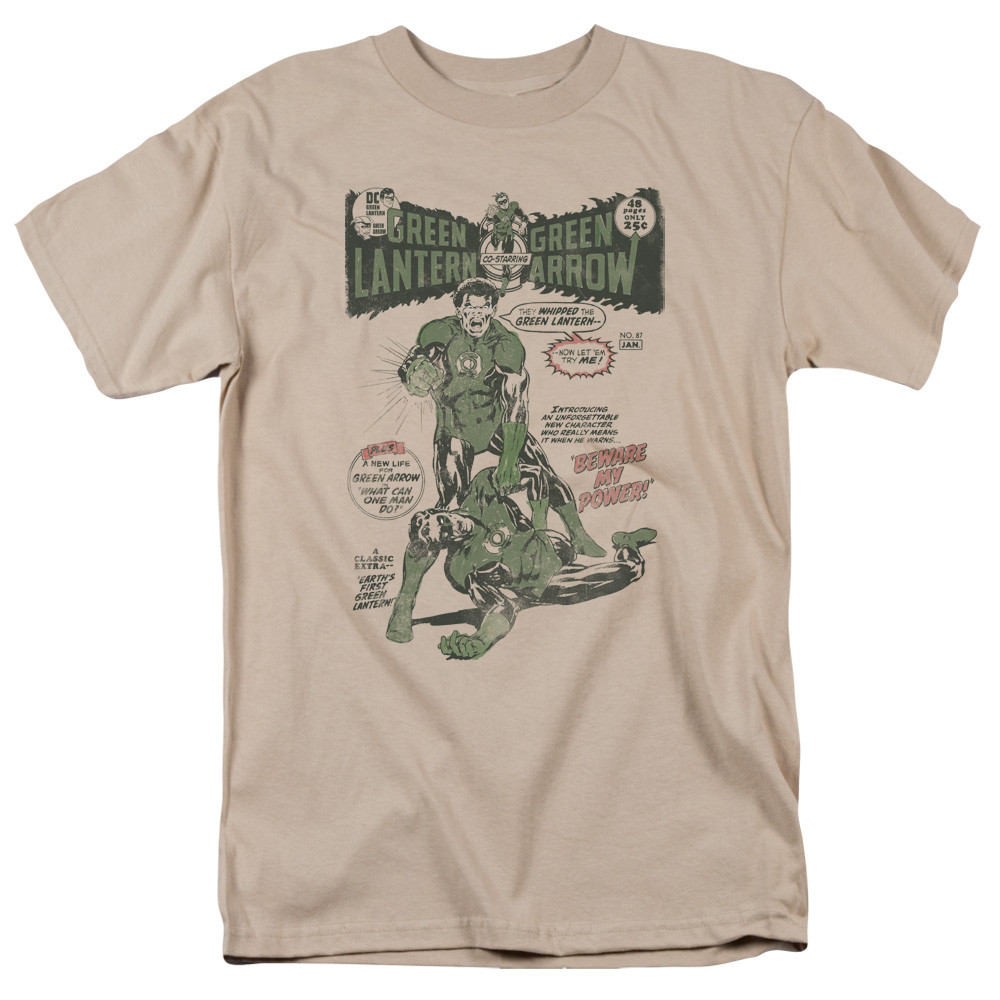 Green Lantern Beware My Power DC T-Shirt