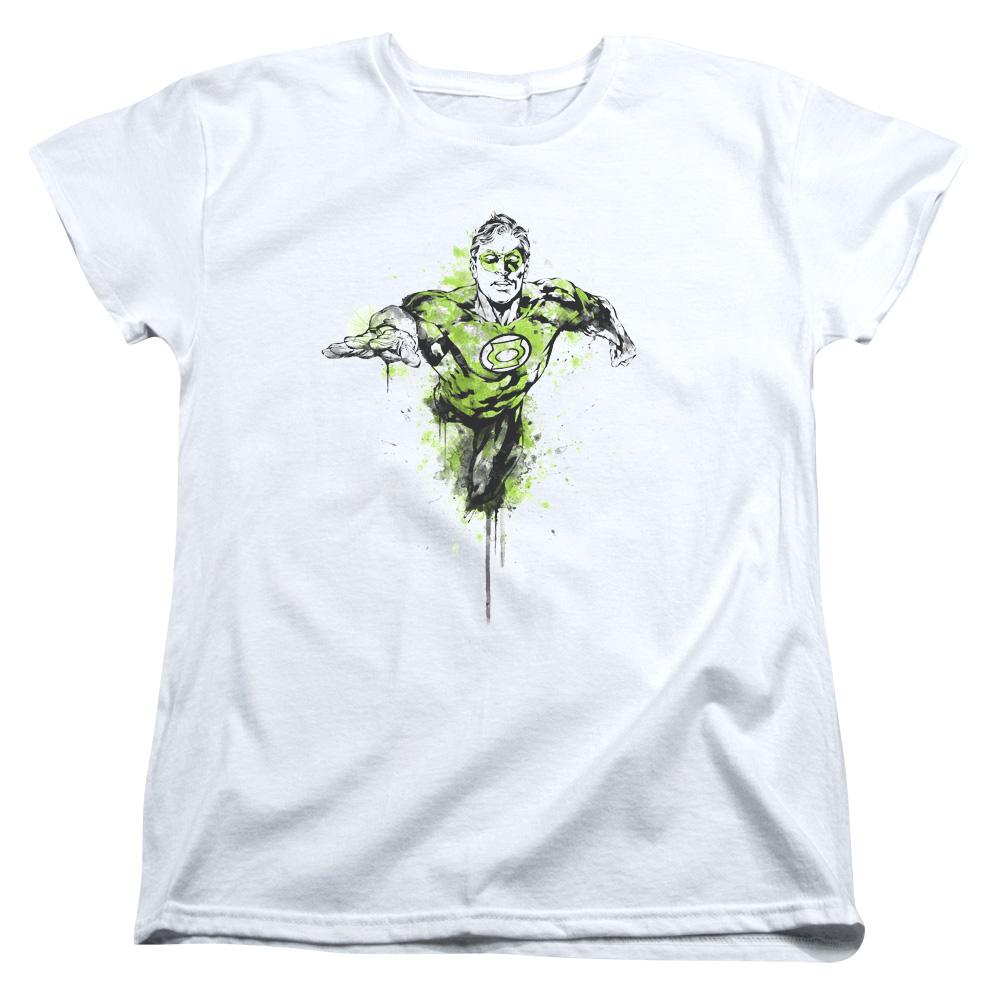 Green Lantern Inked Women's T-Shirt
