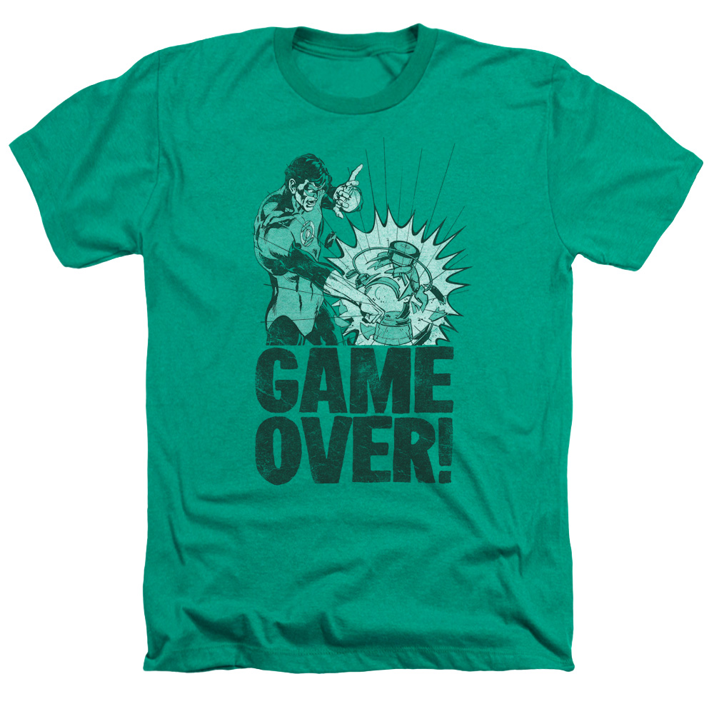 Green Lantern Game Over Heather T-Shirt