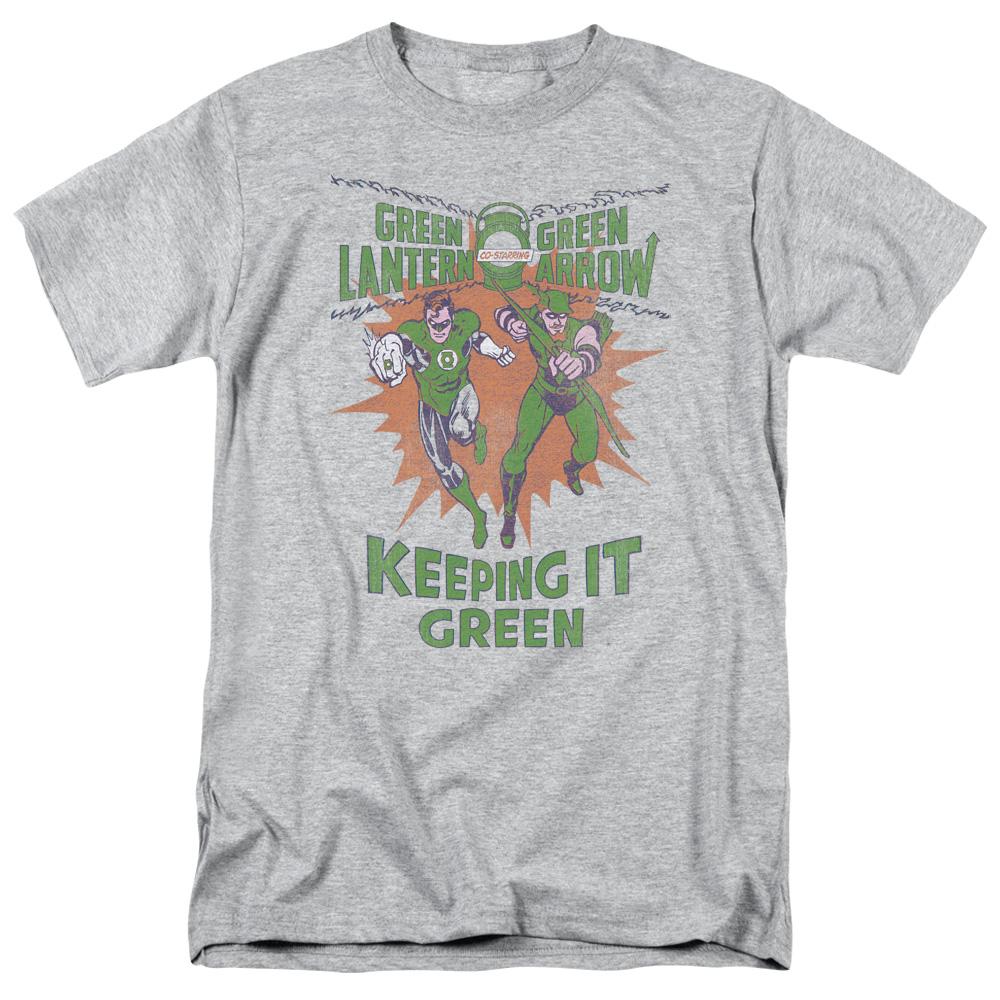 Green Lantern Keeping It Green T-Shirt