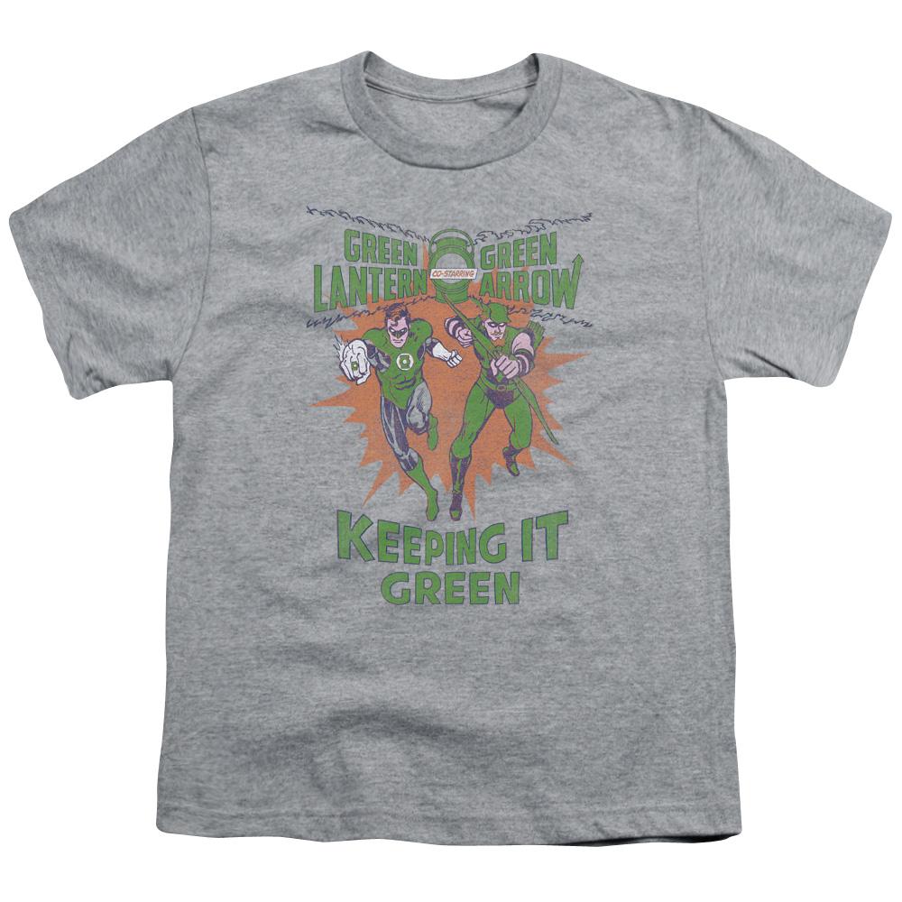 Green Lantern Keeping It Green Kids T-Shirt