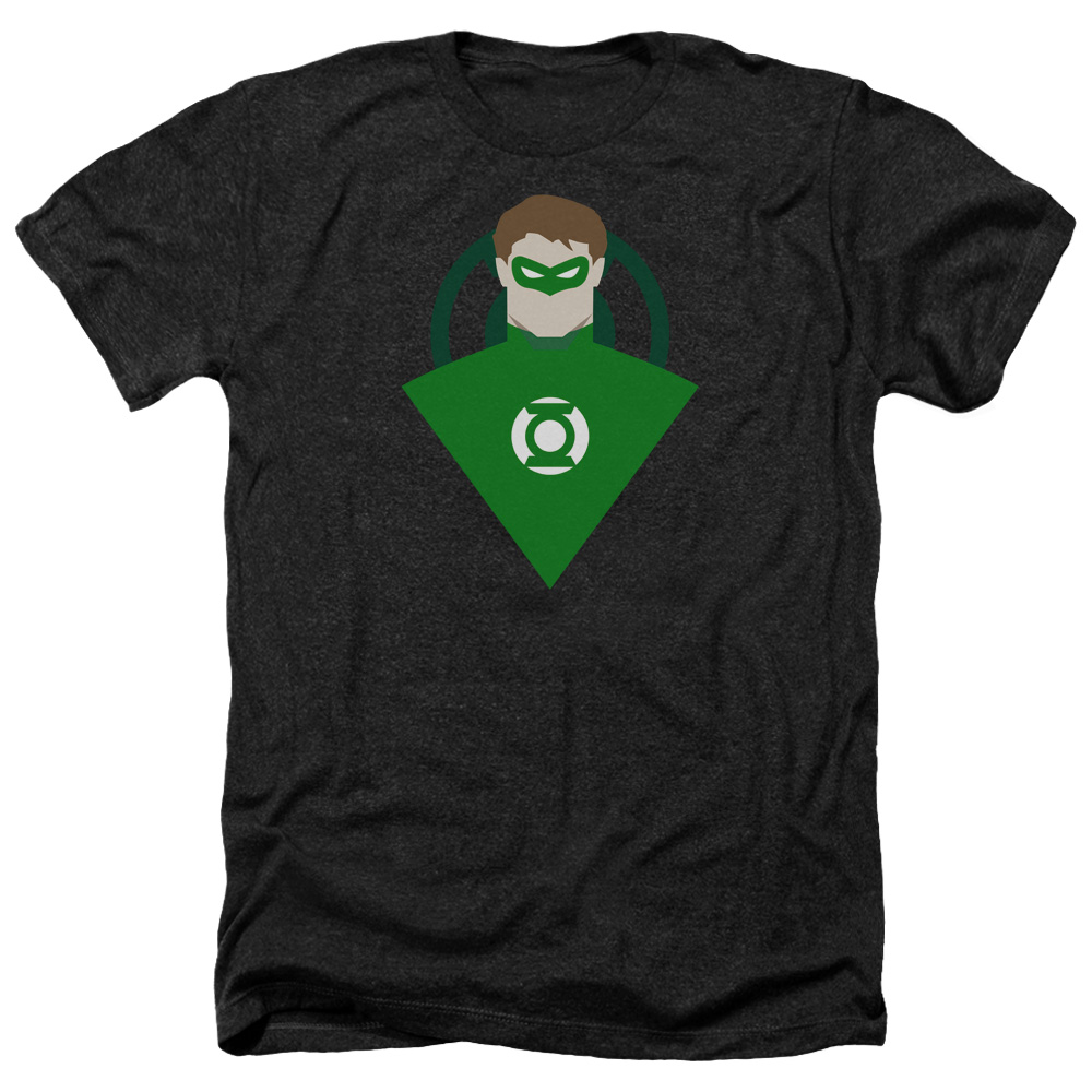 Green Lantern Simple  Heather T-Shirt