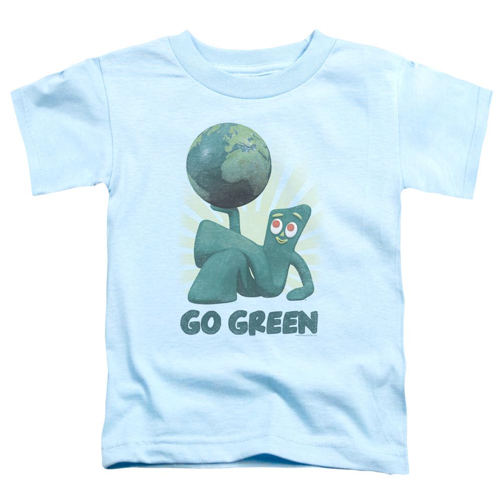 Gumby Go Green Toddler T-Shirt