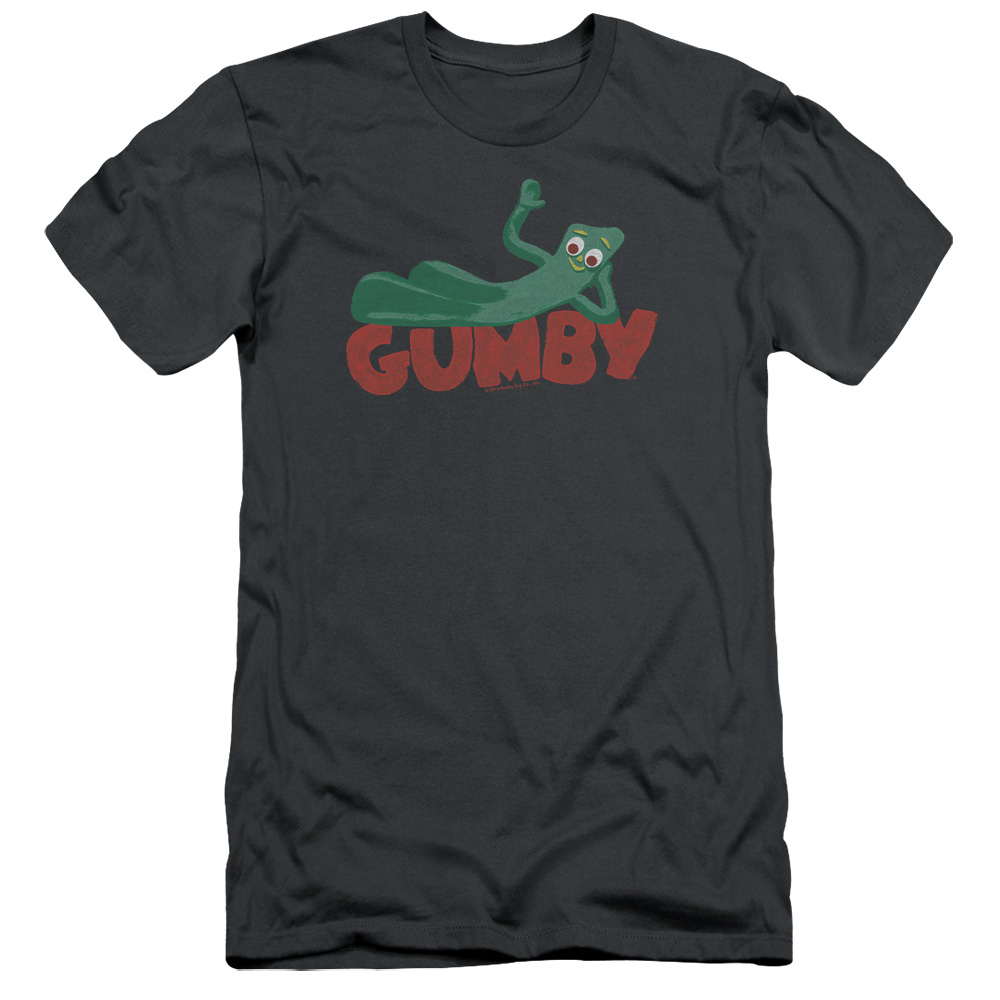 Gumby On Logo Slim Fit T-Shirt