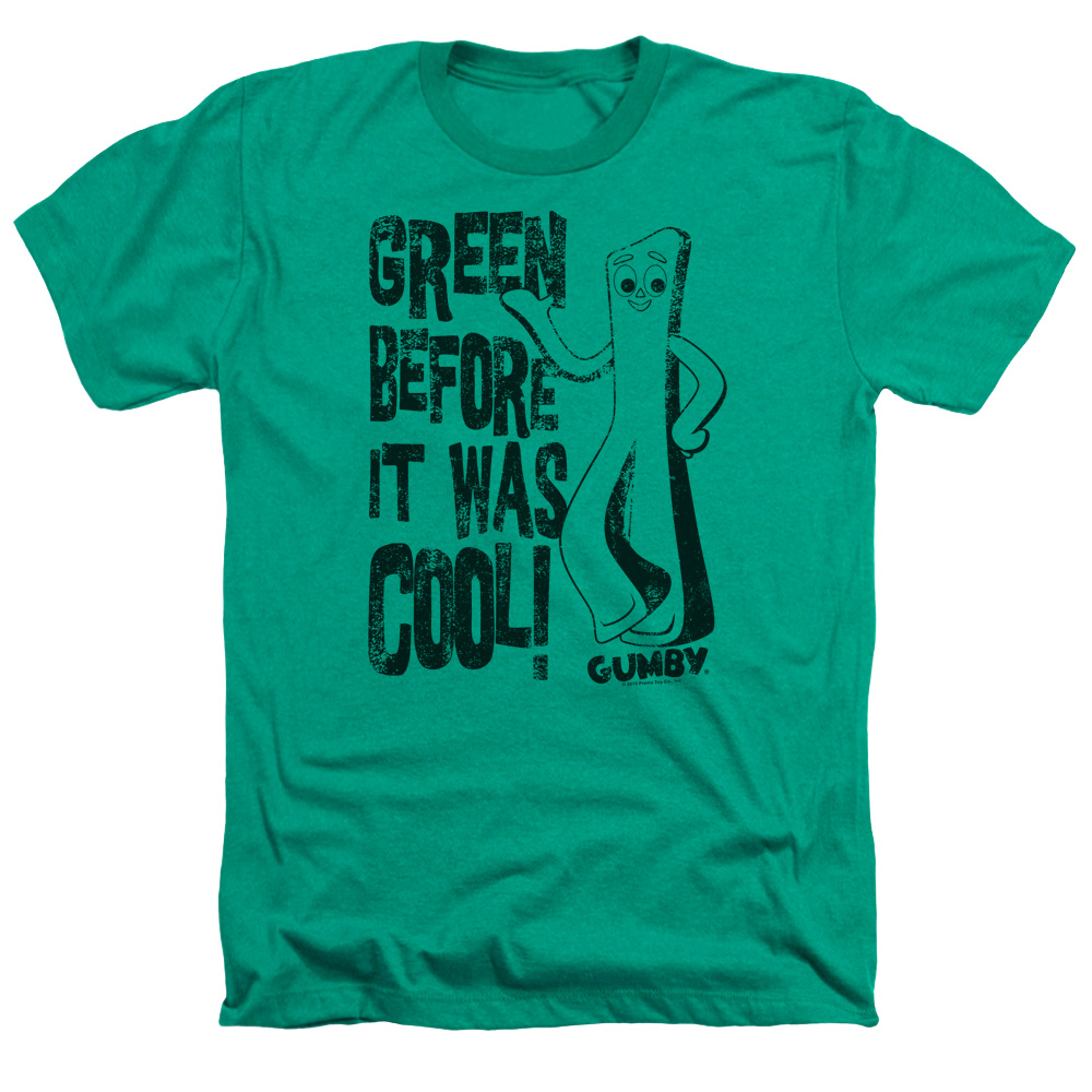 I Was Green before It Was Cool Gumby Heather T-Shirt