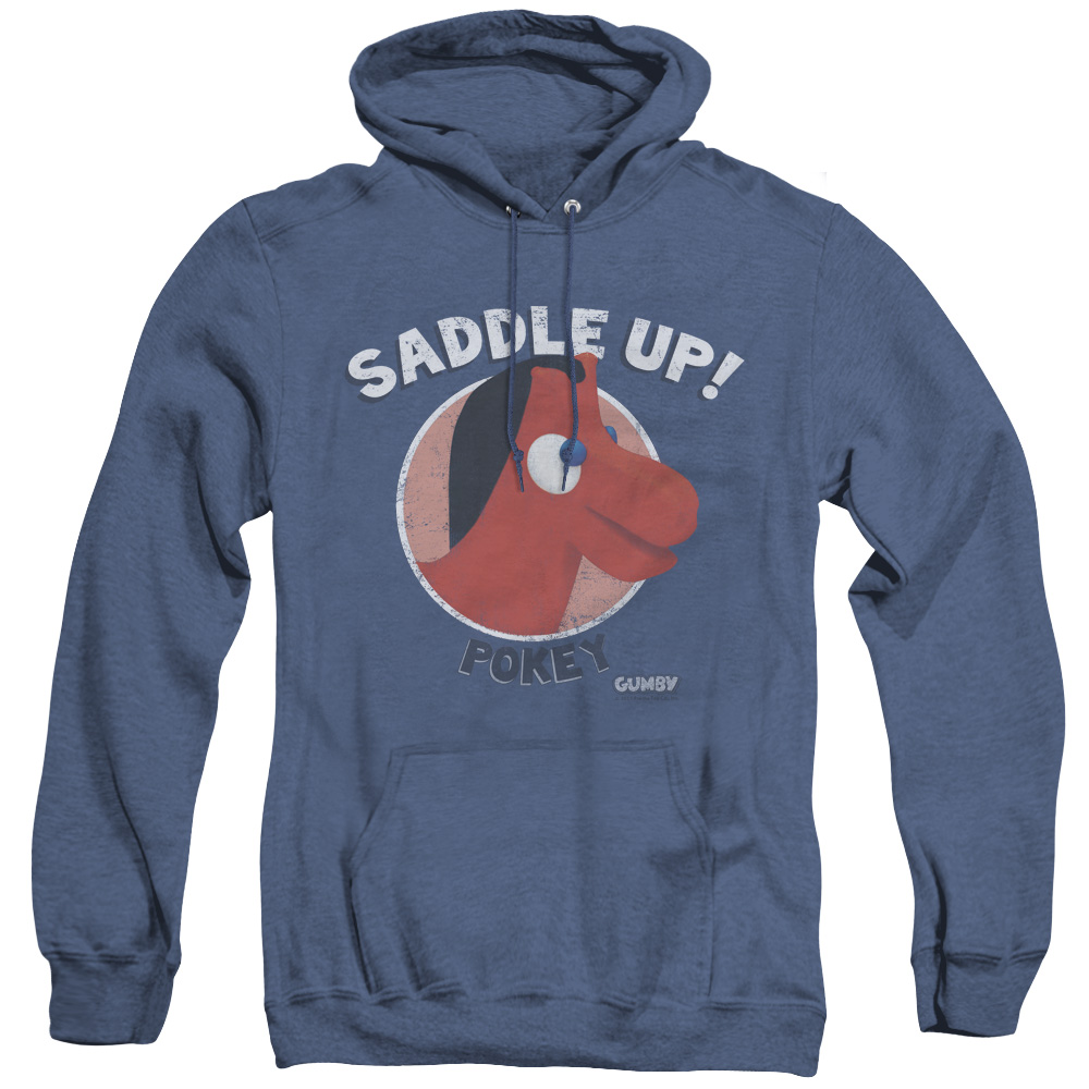 Gumby Saddle Up Adult Heather Hoodie