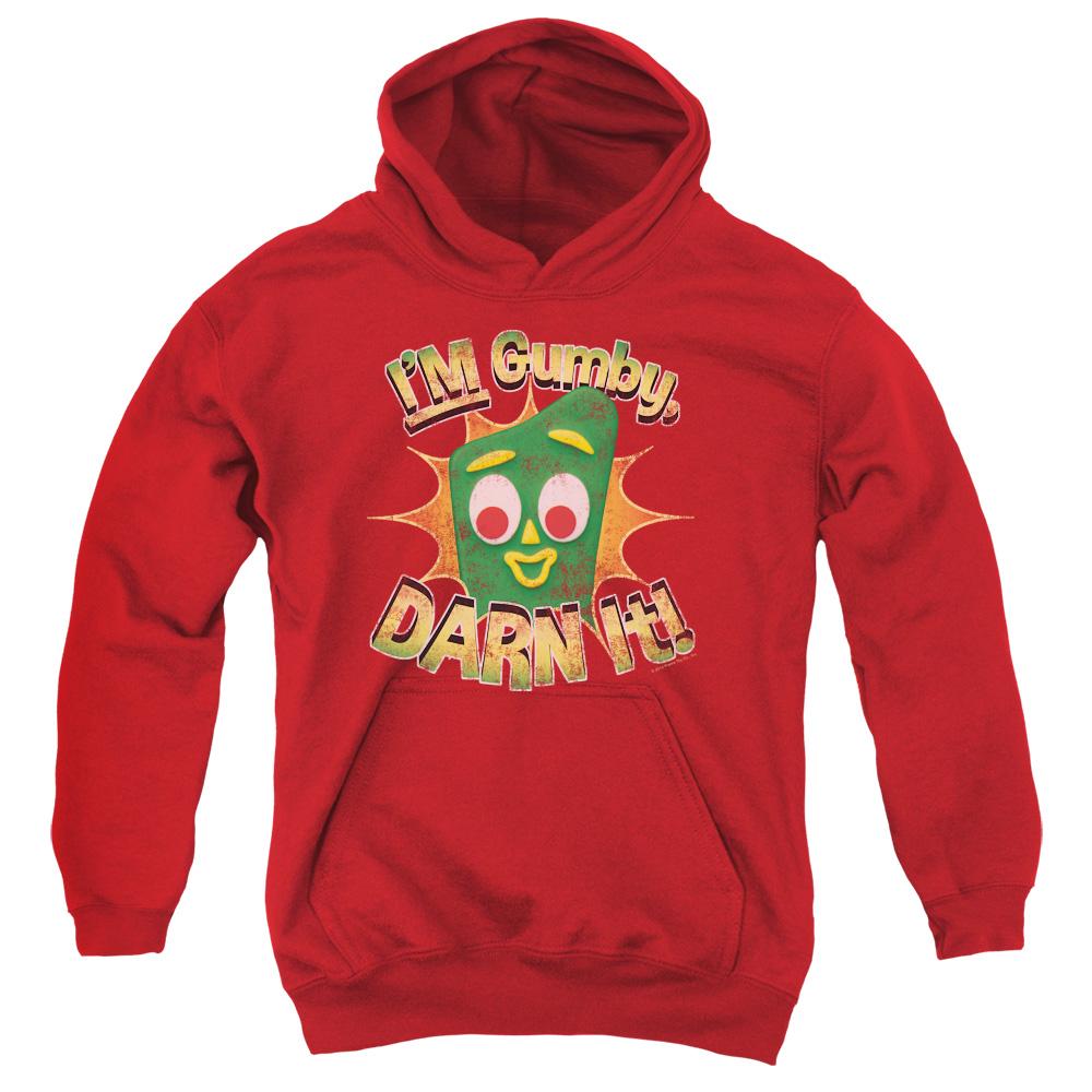 Gumby Darn It Kids Hoodie