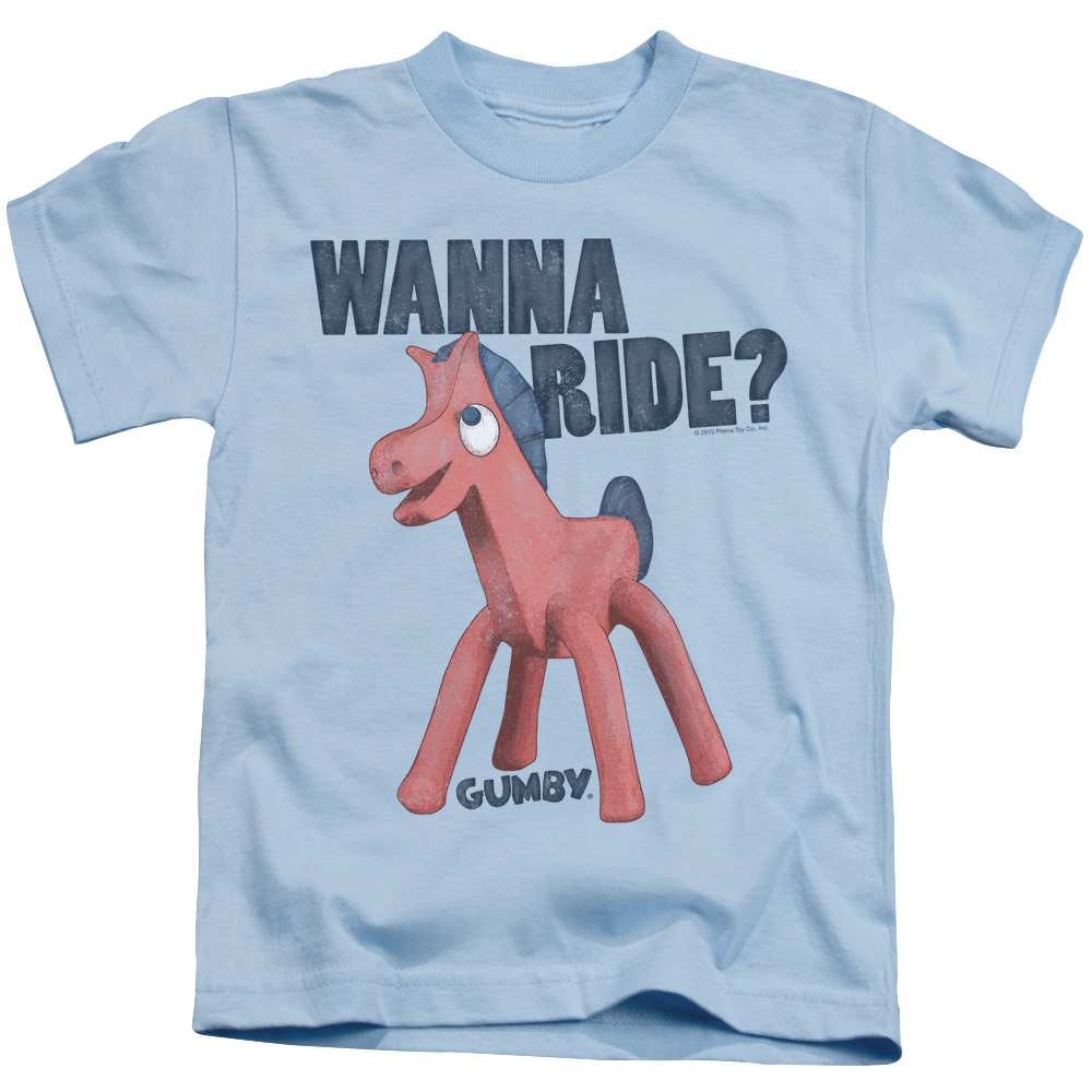 Gumby Wanna Ride Juvy T-Shirt