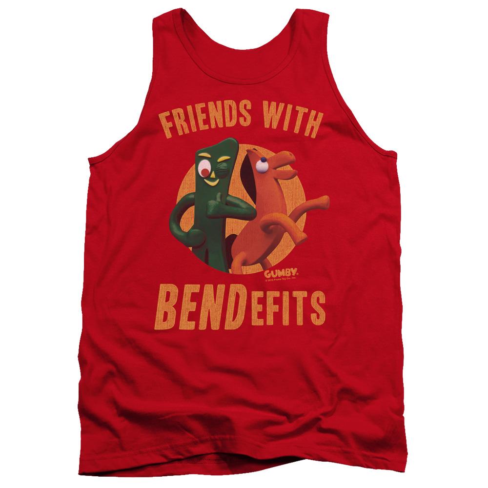 Gumby 60th Adult Tank Top