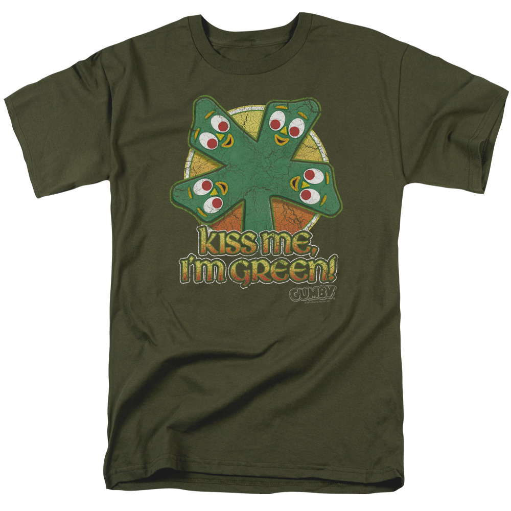 Gumby Kiss Me I'm Green T-Shirt