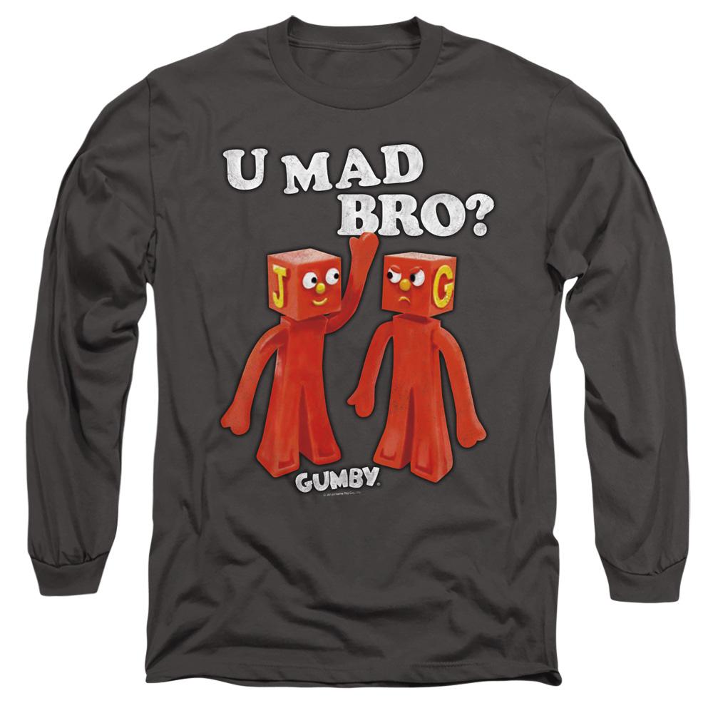 Gumby U Mad Bro Long Sleeve Shirt