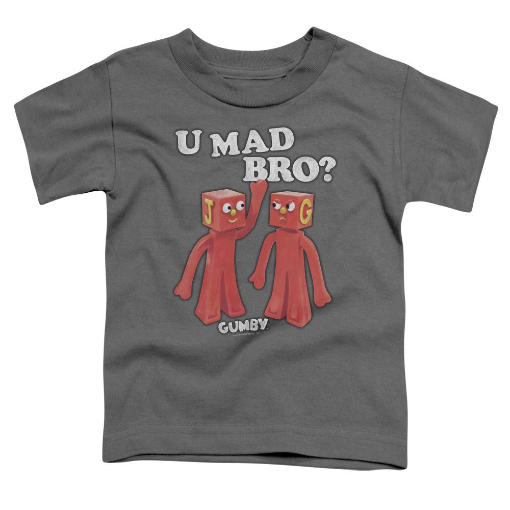 Gumby U Mad Bro Toddler T-Shirt