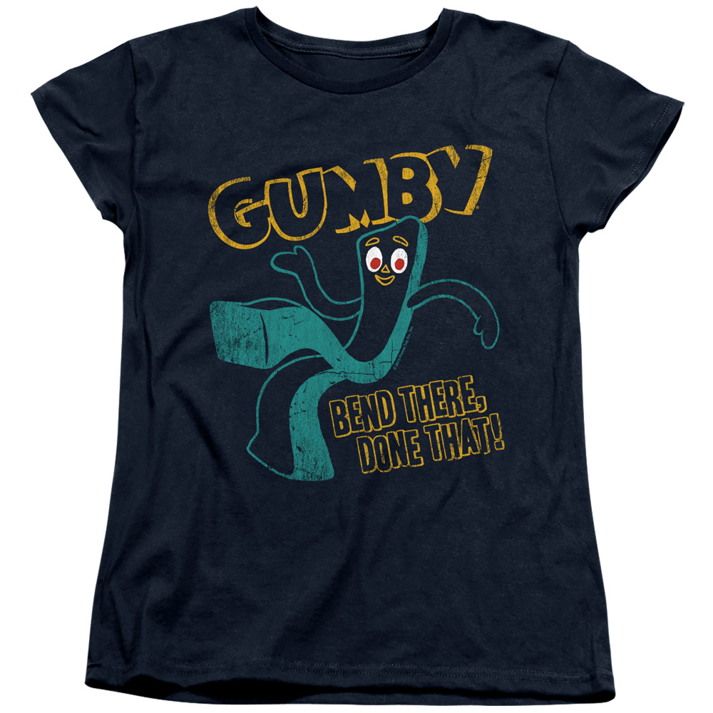 Gumby Bend There Women's T-Shirt