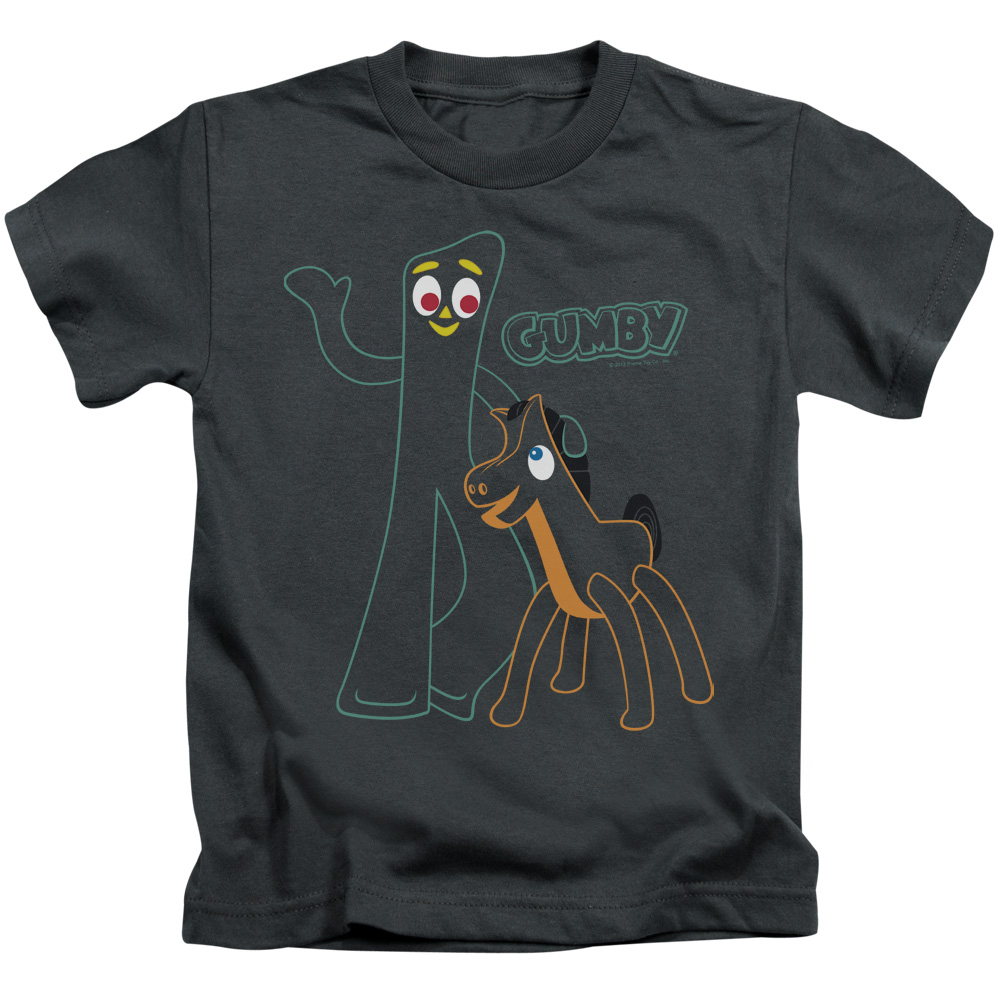 Gumby Outlines Juvy T-Shirt