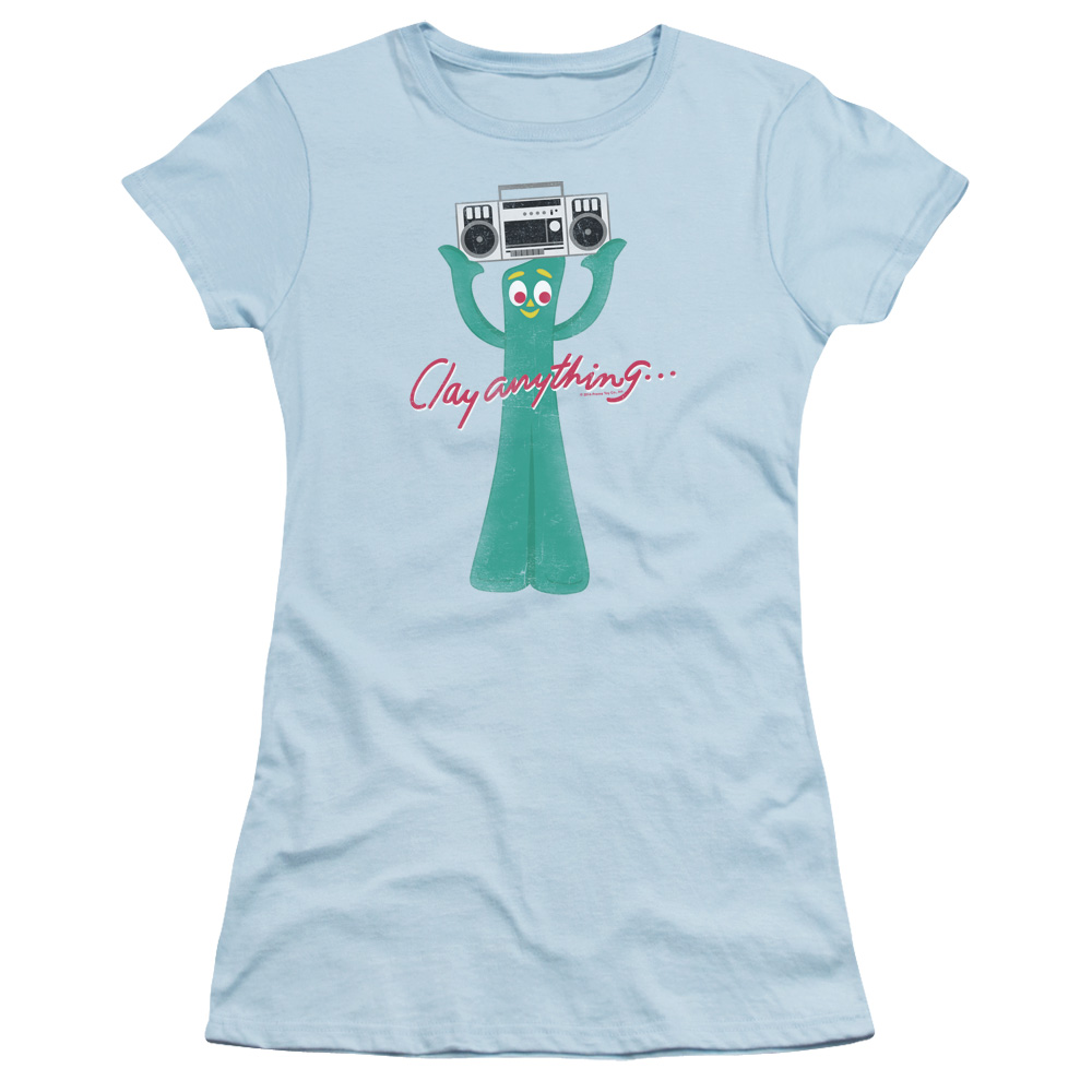 Gumby Clay Anything Junior Fit T Shirt