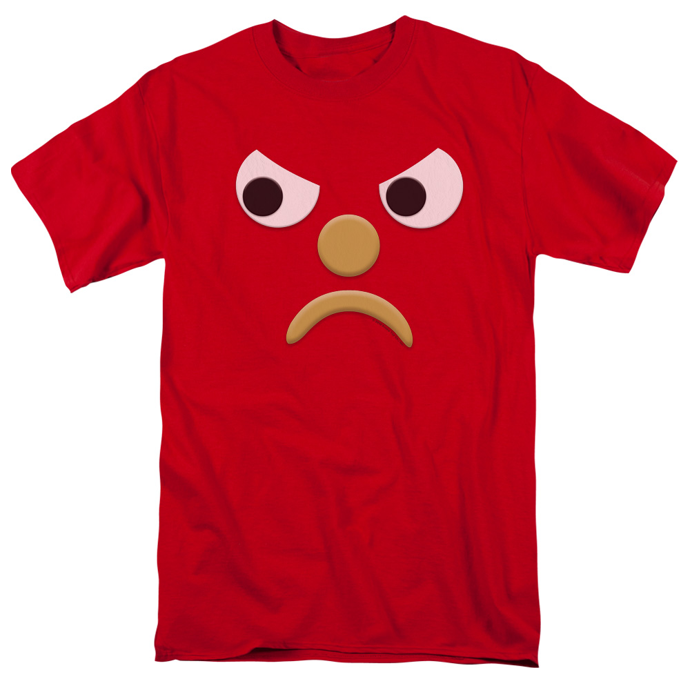 Gumby Blockhead G Mad Face T-Shirt