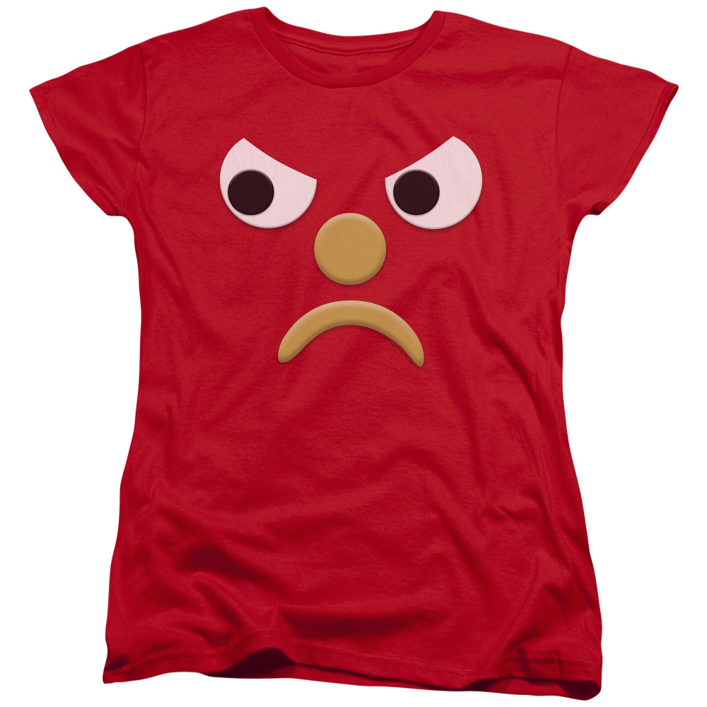 Gumby Blockhead G Mad Face Women's T-Shirt