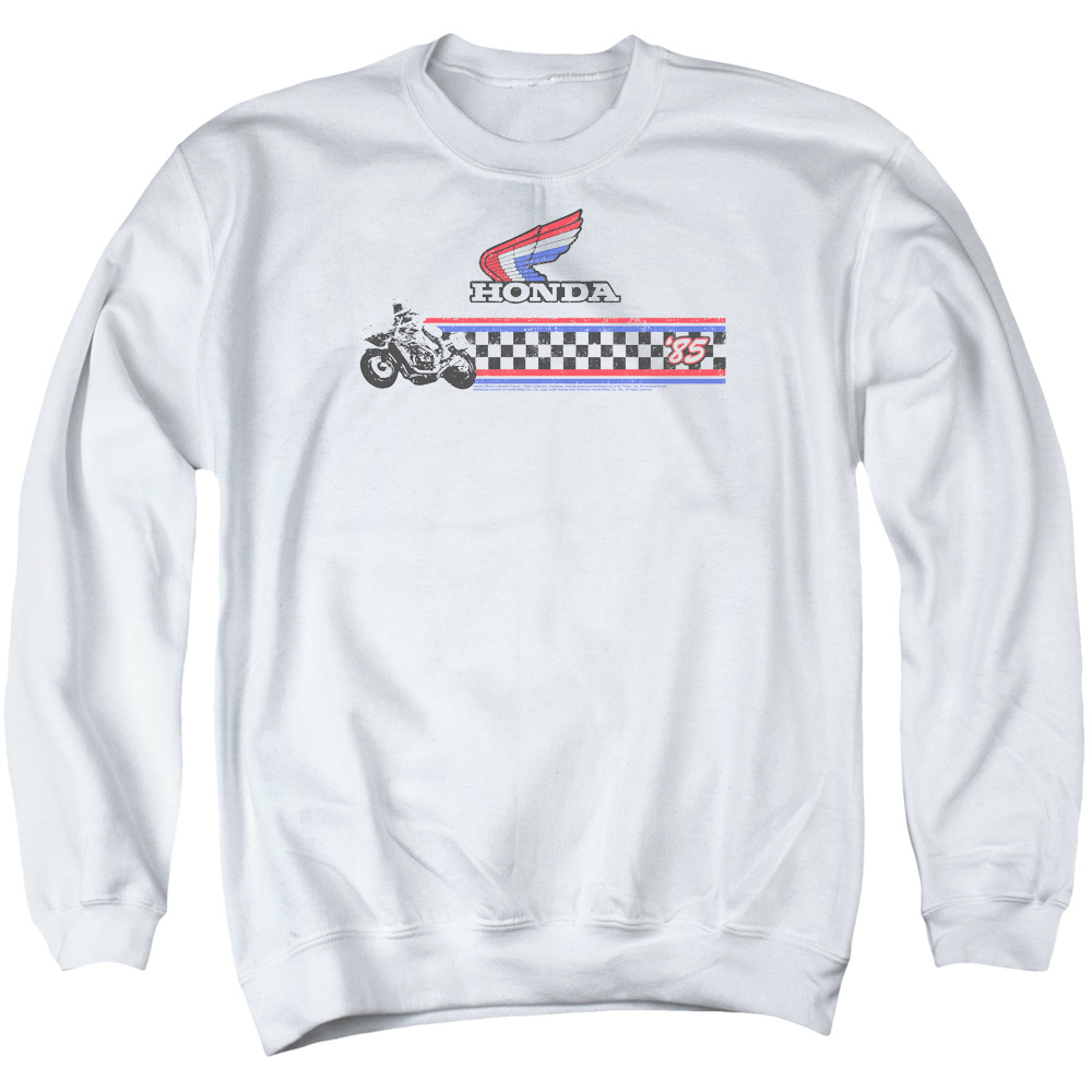Honda Motorcycle 1985 Red White Blue Sweatshirt