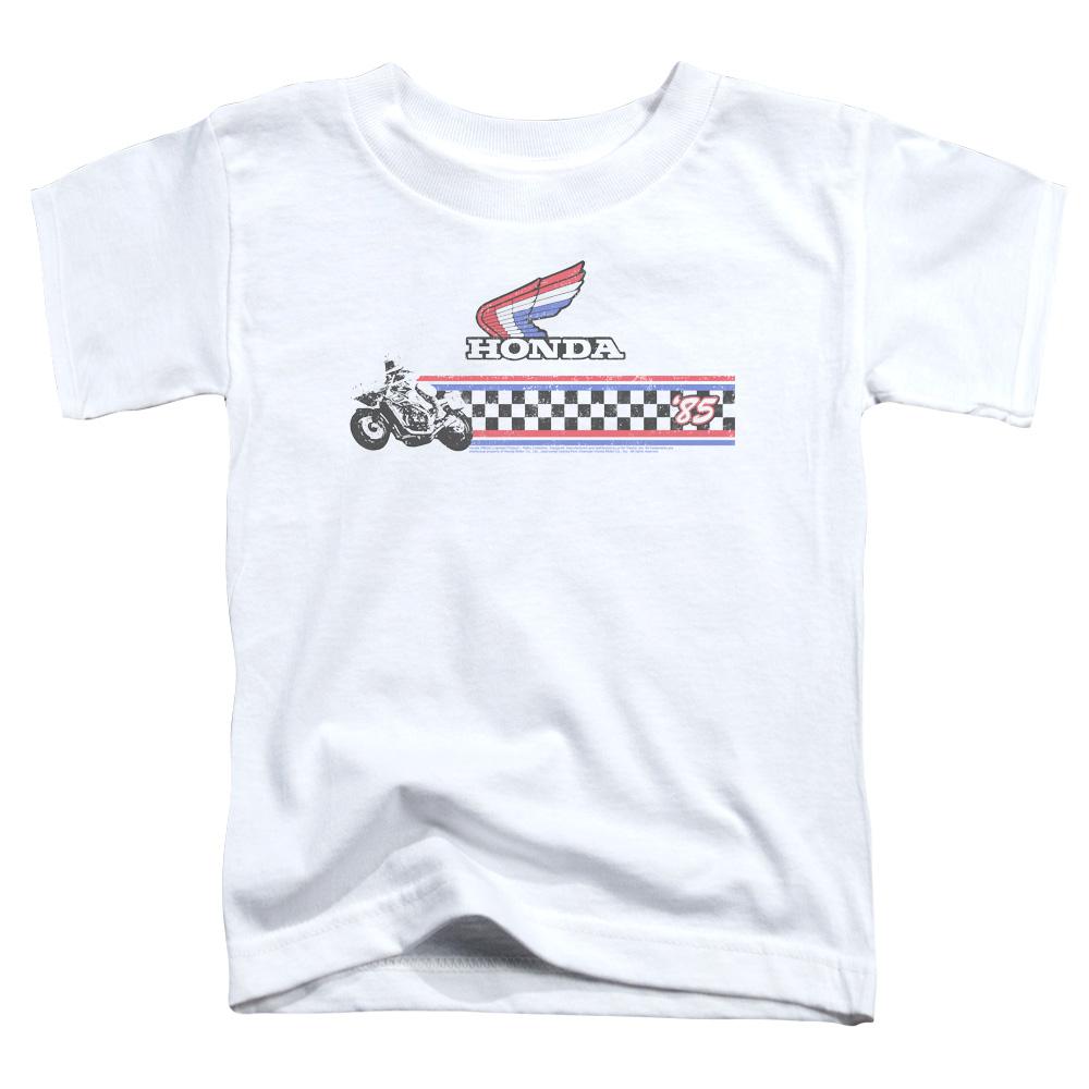 Honda Motorcycle 1985 Red White Blue Toddler T-Shirt