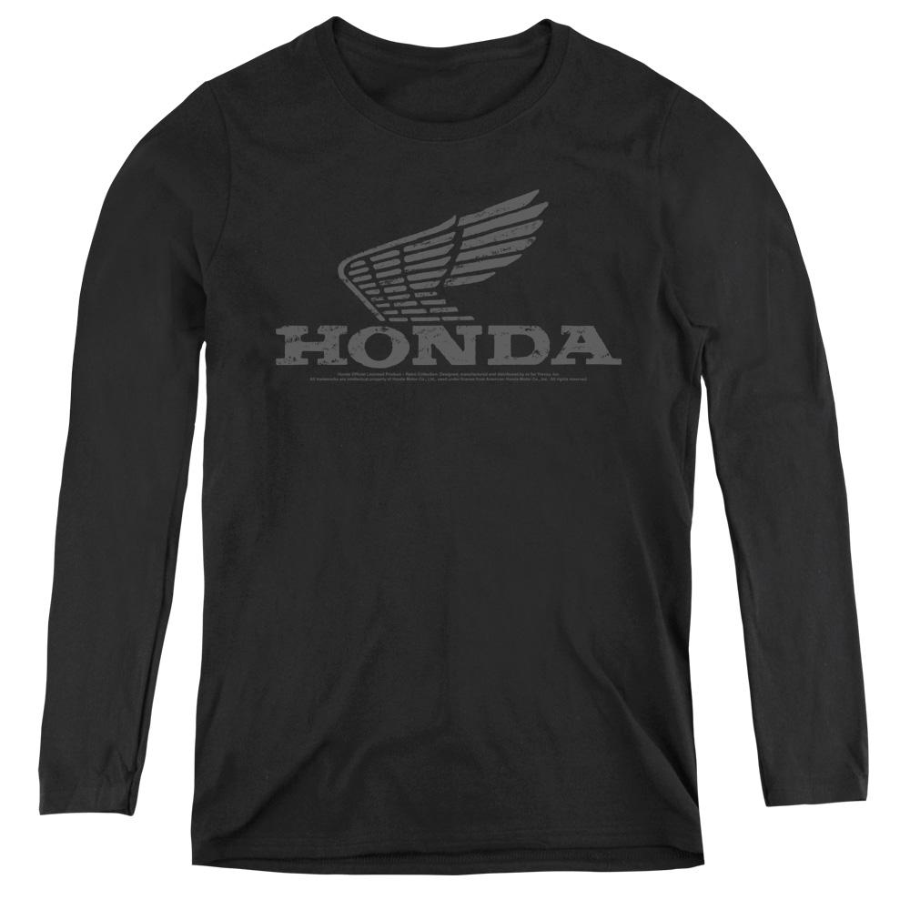 Honda Vintage Wing Women's Long Sleeve Shirt