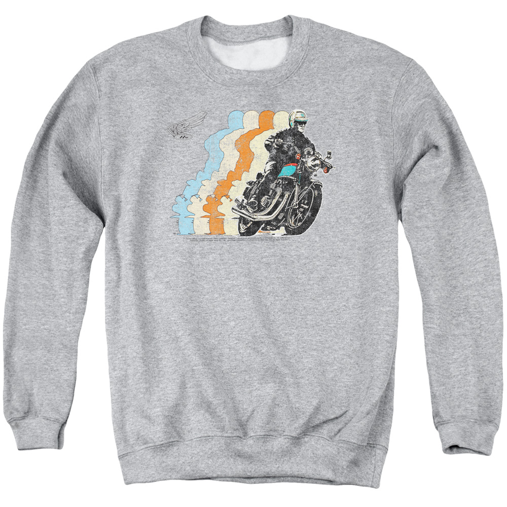 Retro Honda Motorcycle Sweater