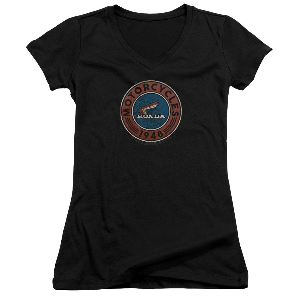 Honda Motorcycle Juniors V-Neck T-Shirt