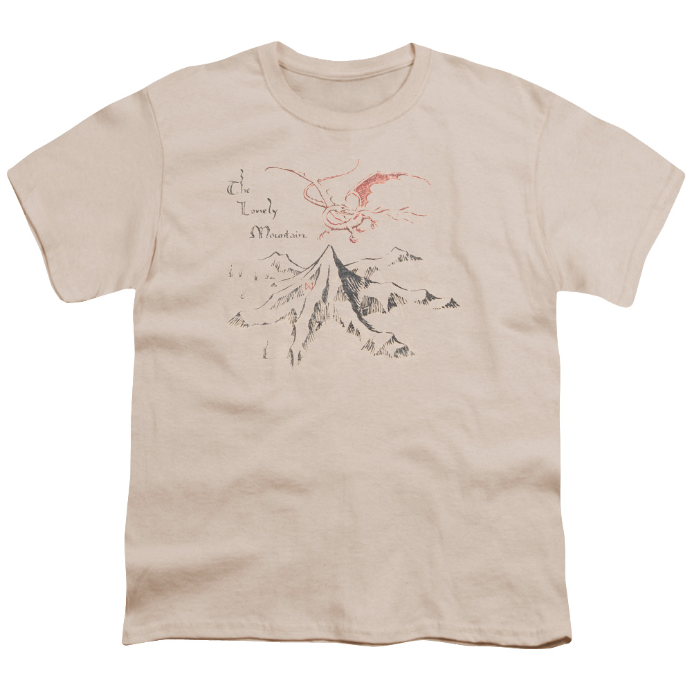 Lonely Mountain The Hobbit Kids T-Shirt